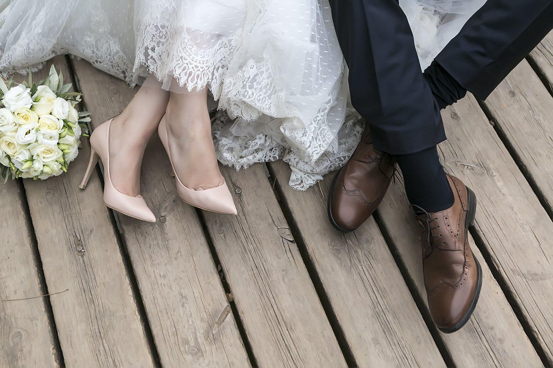 נעליים של חתן וכלה